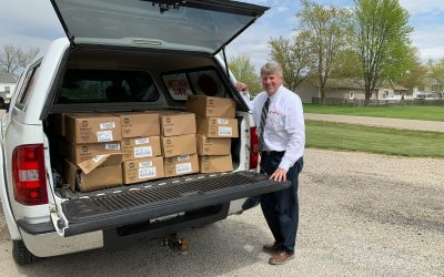 Illinois Pork and Farmweld Donate 1,340 Pounds of Pork Loin to Food Pantries